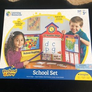 NEW Learning Resources School Set